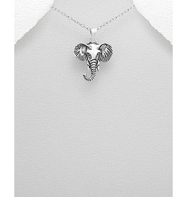 Sterling Necklace- Elephant