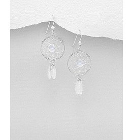 Earrings- Dreamcatcher Moonstone