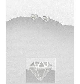 Studs- Diamond Shape