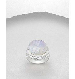 Sterling Ring- Moonstone