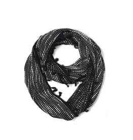 Scarf- Abstract Geo Woven Loop