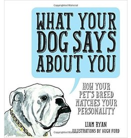 Penguin/Random House Book:  What Your Dog Says About You