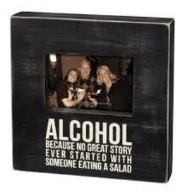 Primitives by Kathy Frame- Alcohol/Salad