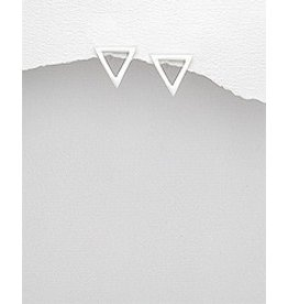 Sterling Studs- Triangles