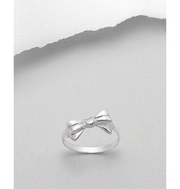 Sterling Ring-Bow