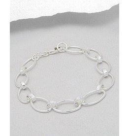 Sterling Linked Bracelet