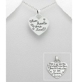 Necklace- Two hearts