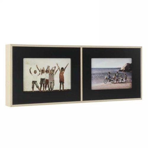 Frame- Double Black Frame 4x6 - Cameron Rose
