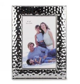 Frame- Hammered Silver 4x6