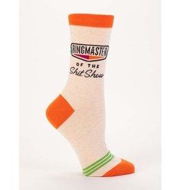 Blue Q Crew Socks-Ringmaster