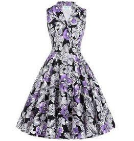 Rose Dress in Purple