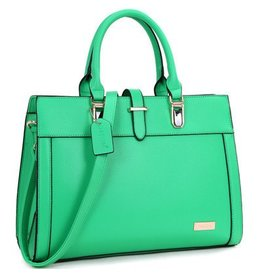 Purse- Front Satchel in Green