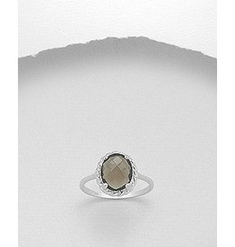Ring- Smokey Quartz