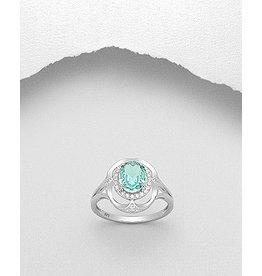 Ring- Green CZ