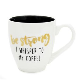 Mary Square Mug Be Strong My Coffee