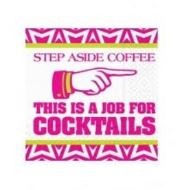 Design Design Napkins- Step Aside Coffee