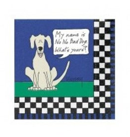 Design Design Napkins-  No No Bad Dog