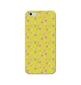 S+K Designs Green Floral Phone Case