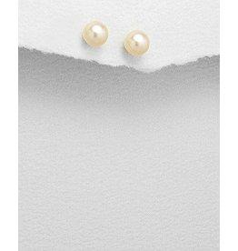 Studs:  Pearls