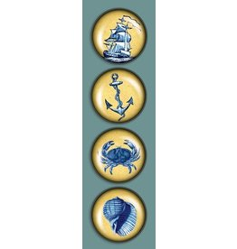 Madison Park Greetings iPop Magnets- CT Vintage Nautical