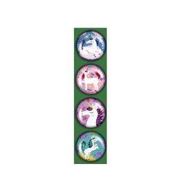 Madison Park Greetings iPop Magnets-KE Unicorns