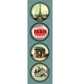 Madison Park Greetings iPop Magnets-CT Paris Je T'aime