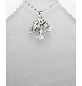 Sterling Necklace- Tree