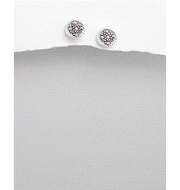 Sterling Studs- Marcasite