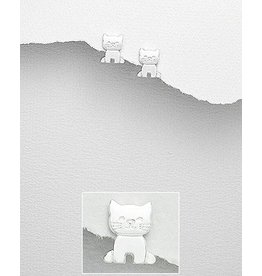 Sterling Studs- Kitties