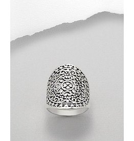Ring-  Thick Patterned