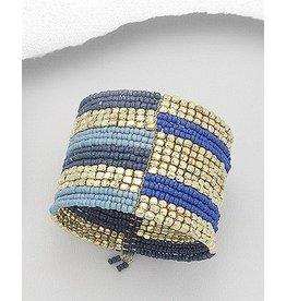 Bracelet- Seed Bead Cuff Bracelet