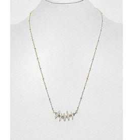 Beaded Necklace- Gemstones