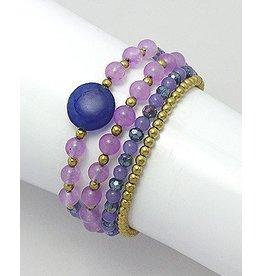 Beaded Bracelets- Gemstones