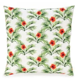 Pillow- Orange&Green Tropical