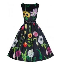 Dress- Audrey in Wild Garden by Lindy Bop
