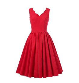 Frock It Susannah Dress in Red
