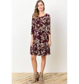 Celia Floral Dress (More Colours)