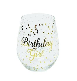 Mary Square Stemless Wine - Birthday Girl