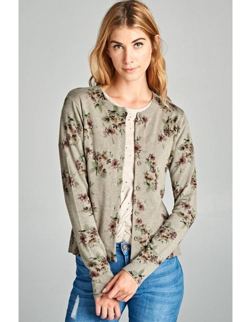 Ivy Floral Sweater