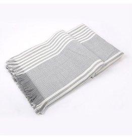 Rock It Grey/White Scarf
