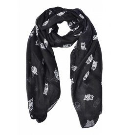 Rock It Scarf-Owl Black