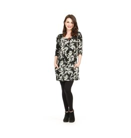 Papillon Janet Floral Button Dress