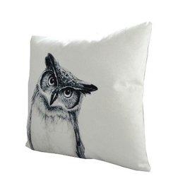Nostalgia Import Pillow - Wise Owl