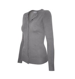 Cielo Cora Button Cardigan- Heather Grey