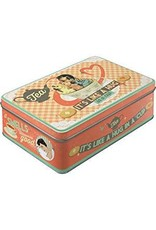 Nostalgia Tin Box Flat