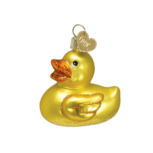 Old World Christmas Rubber Ducky Ornament