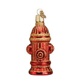 Old World Christmas Fire Hydrant Ornament