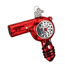 Old World Christmas Blow Dryer Ornament