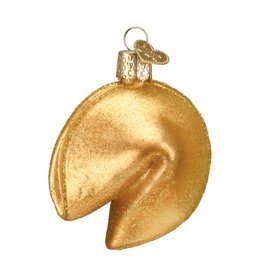 Old World Christmas Fortune Cookie Ornament