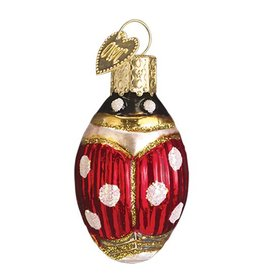 Old World Christmas Lucky Ladybug Ornament